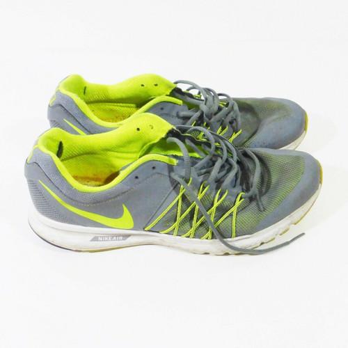 Nike Air Men's Green & Grey Sneakers Size 12 *No soles & Tear Inside Heel*