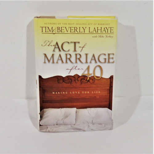 The Act of Marriage After 40 by Tim & Beverly Lahaye Hardcover Book