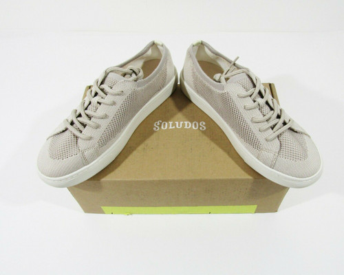 Soludos Women's Gray Eco Knit Sneakers Size 9 **NEW WITH BOX**