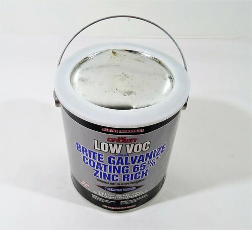 Aervoe Crown Low VOC Brite Galvanize Coating 65% Zinc Rich *NEW DENTED CAN