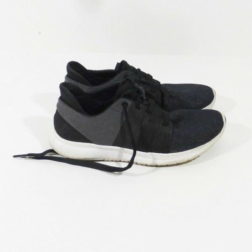 Reebok Trilux Women's Grey & Black Paneled Running Shoes Size 8.5