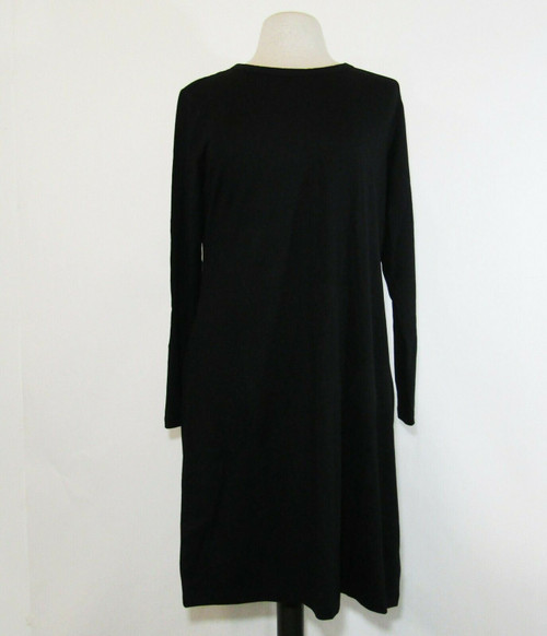 Old Navy Women's Black Long Sleeve T-Shirt Dress Size XL **NEW WITH TAGS**