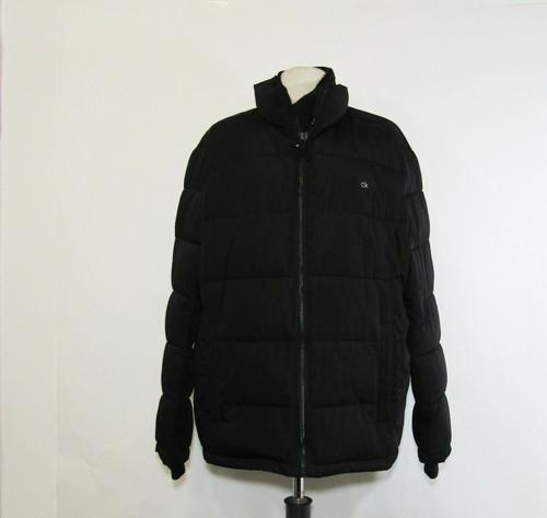 Calvin Klein Men's Black Water Resistant Puffer Jacket Size Large