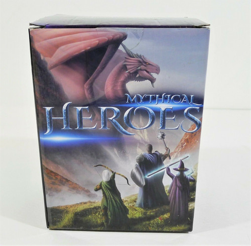 Mythical Heroes Mini Figure Set for RPGs 93 Figures 16 Designs - NEW *DAMAGE BOX