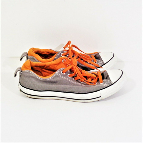 Converse Chuck Taylor All Star Grey & Orange Men's Sneakers Size 11 140085f
