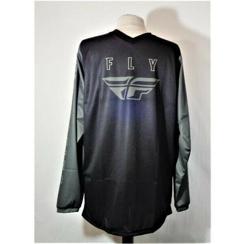 Fly Racing F-16 Jersey Black & Grey Men's M *NEW*