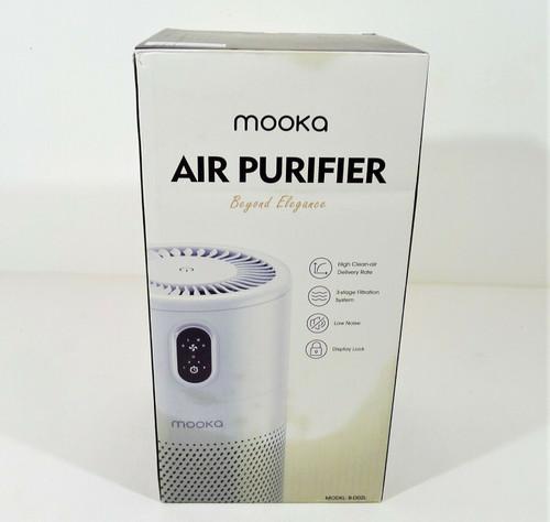 Mooka Air Purifier H13 True HEPA Air Filter Cleaner - OPEN **DAMAGED BOX