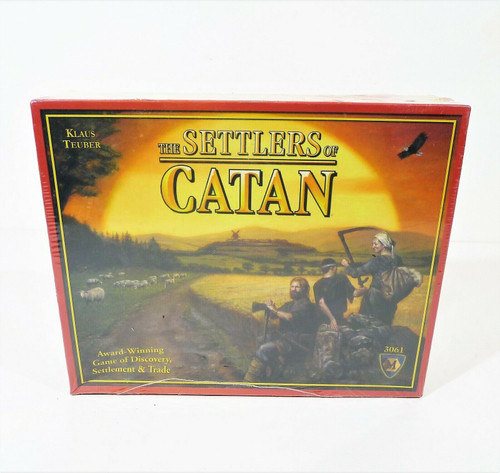 The Settlers of Catan - NEW SEALED **DAMAGED BOX