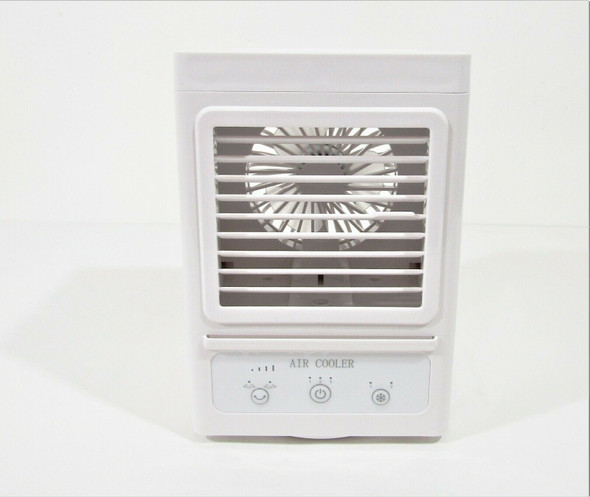 Rechargeable Portable Oscillating Air Cooler w/ Multiple Speeds **NEW, OPEN BOX