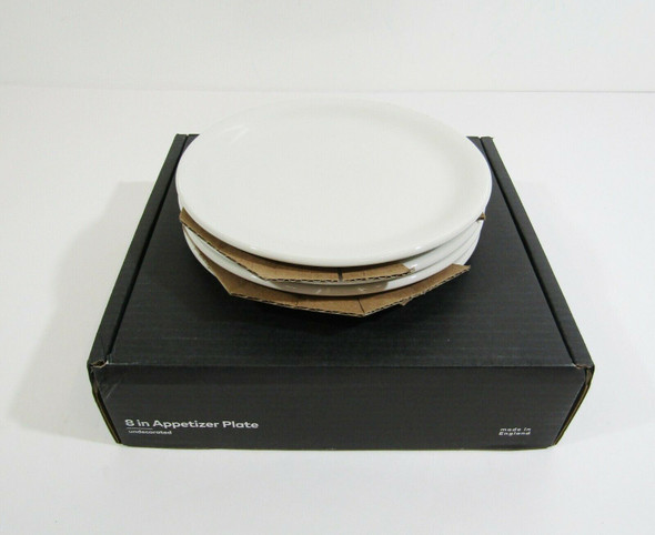 """Made In Cookware 8"""" Appetizer Plates, Set of 4 **OPEN BOX, SEE DESCRIPTION**"""