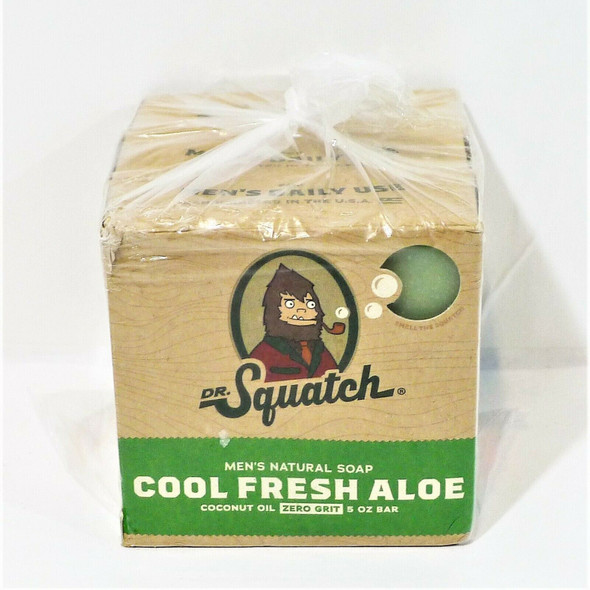 Dr. Squatch Men's Natural Soap 3pc Variety Pack *NEW*
