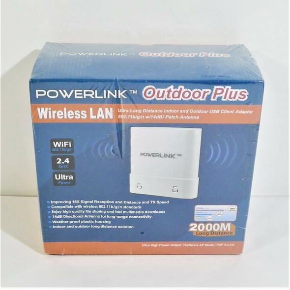 Powerlink Outdoor Plus Wireless LAN USB Client Adapter *NEW*