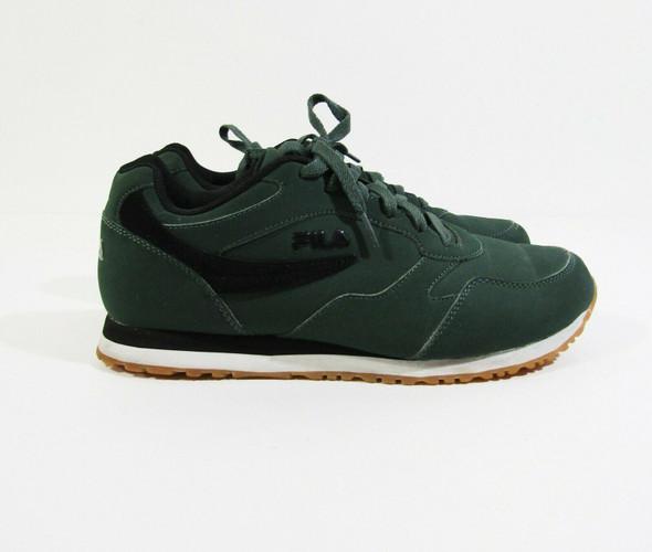 Fila Men's Hunter Green Cress Sycamore Sneakers Size 11