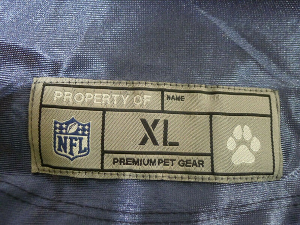 Little Earth Productions NFL Chicago Bears Pet Jersey XL *NEW*