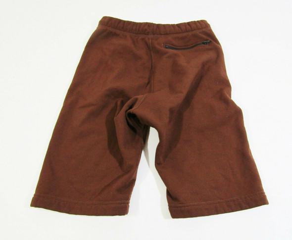 The North Face Boys Burgundy Fleece Shorts Size Medium