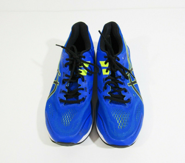 Asics GT-2000 7 Men's Blue & Green Athletic Running Shoes Size 9
