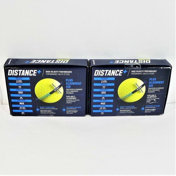 TaylorMade 24pc Hi-Visibility Yellow Soft Golf Balls *NEW, Damaged Box*