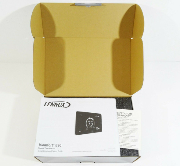 Lennox iComfort E30 Smart Thermostat Kit  NEW  OPEN BOX