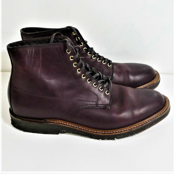 Alden Brown Leather Chukka Boots Men's Size 8