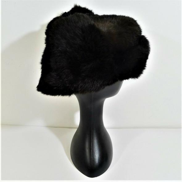 PMK Vintage Unisex Brown Fuzzy Russian Ushanka Winter Hat