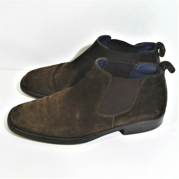 Gordon Rush Brown Suede Chelsea Boots Size 7