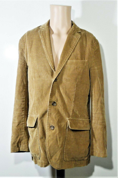 J. Crew Tan Corduroy Blazer Jacket Men's Size S