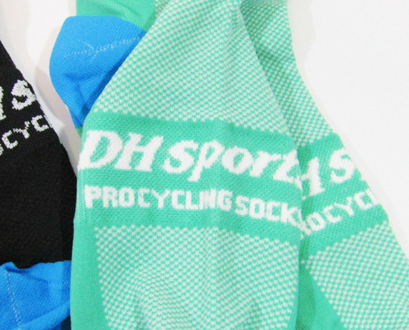 DH Sports Men's 4 Pack Pro Cycling Socks Size 6-11 **NEW IN PACKAGE**