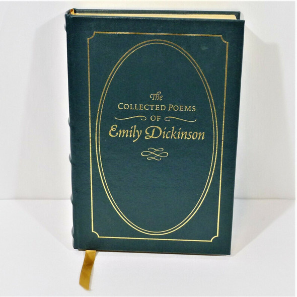 The Collected Poems of Emily Dickinson Hardcover Book