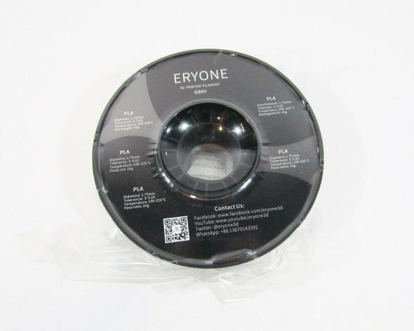 Eryone PLA 3D Printer Filament, Grey, 2.2 LBS **OPEN BOX**