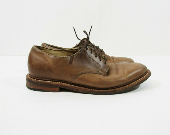 Oak Street Bootmakers Men's Light Brown Leather Shoes Size 8.5 D **SCUFFS**