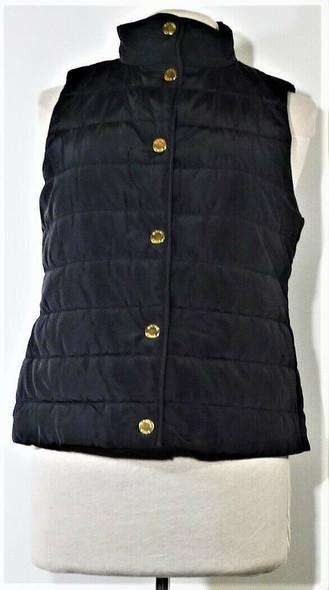Michael Kors Black Puffer Vest Women's Size S *NEW w/ Tags*