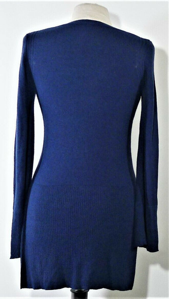 Free People Navy Blue Pullover Sweater Women's Size XS