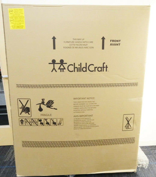 Child Craft Westgate 5-Drawer Chest in Chelsea Gray LOCAL PICKUP ONLY, AUSTIN TX