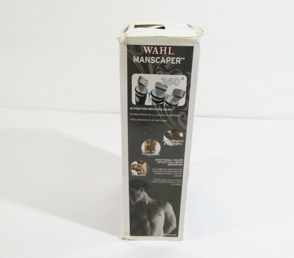 Wahl Manscaper Rechargeable Full Body Hair Trimmer **OPEN BOX**