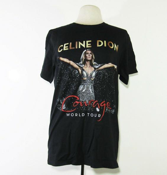 Celine Dion Courage World Tour Women's Shirt Size Medium
