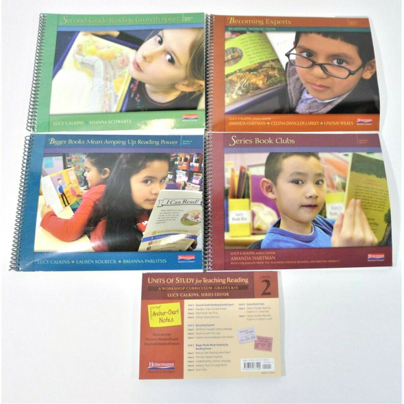 Heinemann Units of Study for Teaching Reading, Grade 2 Complete Curriculum