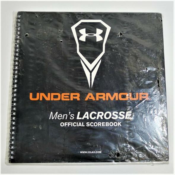 Under Armour Men's Lacrosse Official Scorebook *NEW*