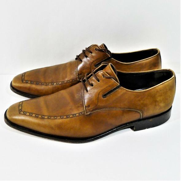 Bruno Magli Brown Leather Oxfords Men's Size 8 M