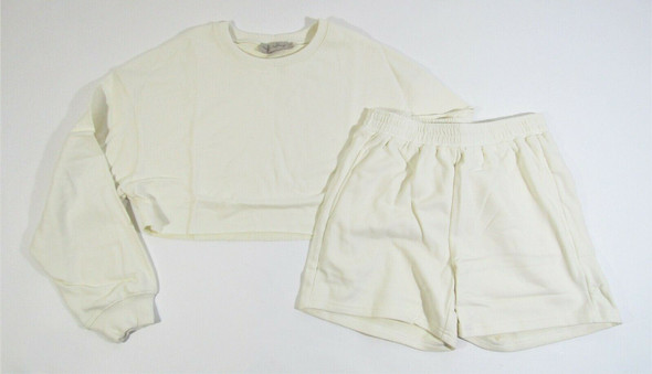 Beige Botany Women's 2 Piece Cream Lounge Shorts Set Size Small **NEW IN PACKAGE