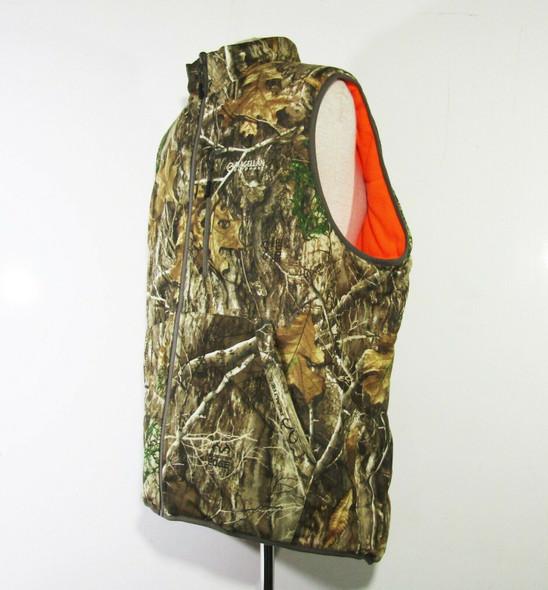 Magellan Realtree Edge Men's Reversible Camo & Orange Vest **NO SIZE, SEE DESCR.