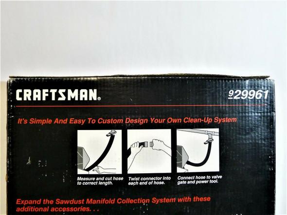 Craftsman Shopdust Vac System Hose Extension Kit *NEW, Open Box*