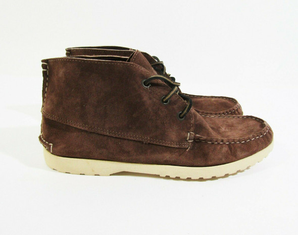 Quoddy Men's Brown Leather Chukka Boots Size 8.5