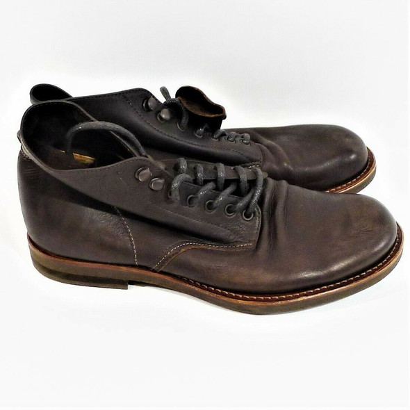 E.O.I. by Mr. Olive Soft Brown Leather Boots Men's Size 8.5