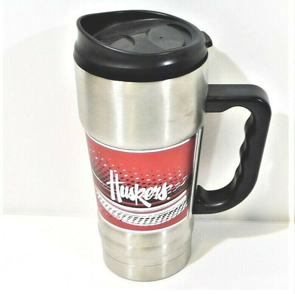Nebraska Huskers 20 Oz. Stainless Steel Hot/Cold Insulated Mug *NEW*