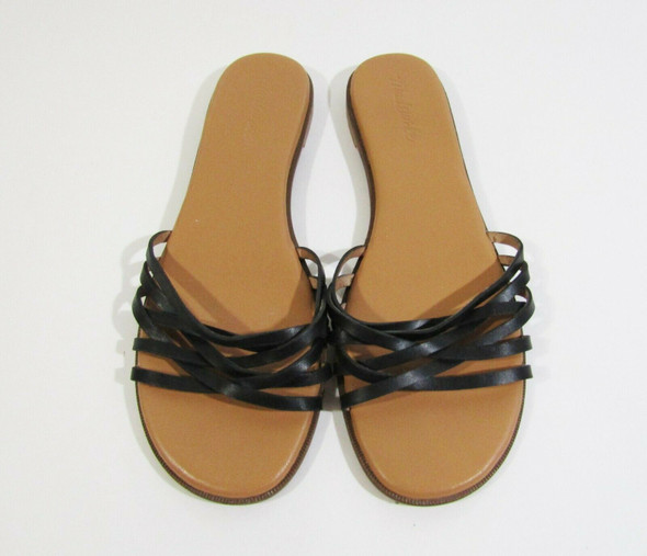Madewell Women's Black & Tan Open Toe Sandals Size 9