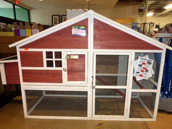 The Tuscan Villa Backyard Chicken Coop LOCAL PICKUP ONLY