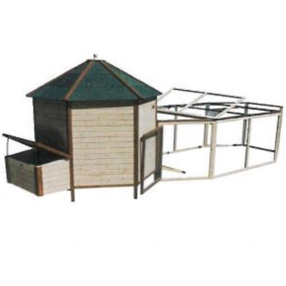 The Tower with Run Backyard Chicken Coop LOCAL PICKUP ONLY