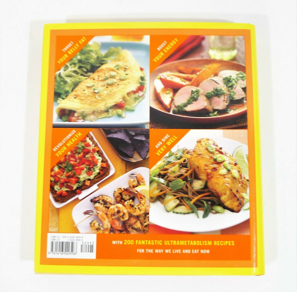 The Ultra-Metabolism Cookbook Hardback Book Delicious Recipes for Weight Loss