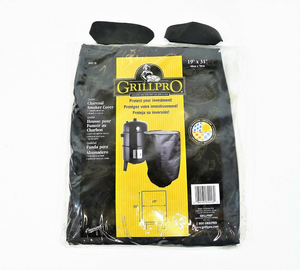 GrillPro Vinyl Charcoal Smoker Cover 84216 - NEW