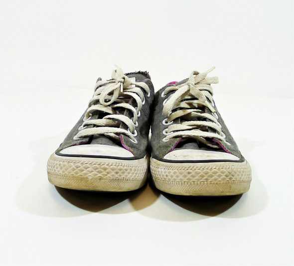 Converse Women's Gray All Star Low Top Sneakers Shoes Size 7 - 552592C